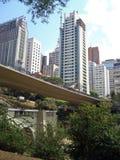 Paisaje urbano de São Pablo Fotos de archivo