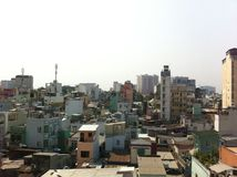 Paisaje urbano de Saigon Fotografía de archivo
