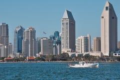 Paisaje urbano de San Diego Foto de archivo libre de regalías