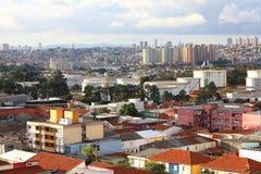 Paisaje urbano de Sao Paulo Fotos de archivo libres de regalías