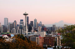 Paisaje urbano de Seattle Foto de archivo
