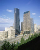 Paisaje urbano de Seattle Imagen de archivo libre de regalías