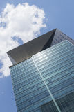Paisaje urbano de Seul - opinión de ángulo bajo fotos de archivo