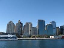 Paisaje urbano de Sidney imagenes de archivo