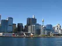 Paisaje urbano de Sidney fotografía de archivo