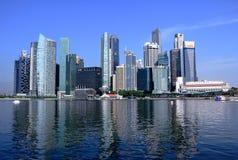 Paisaje urbano de Singapur Foto de archivo