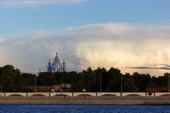 Paisaje urbano de St Petersburg Fotos de archivo libres de regalías