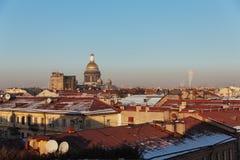 Paisaje urbano de St Petersburg Fotografía de archivo