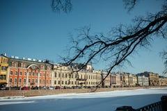 Paisaje urbano de St Petersburg Imágenes de archivo libres de regalías