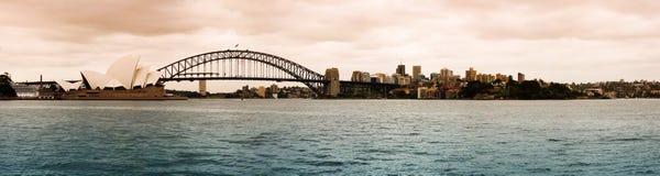 Paisaje urbano de Sydney imagen de archivo libre de regalías