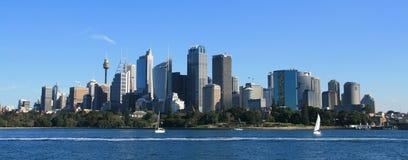 Paisaje urbano de Sydney Fotografía de archivo libre de regalías