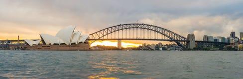 Paisaje urbano de Sydney, Australia Fotos de archivo libres de regalías