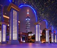 Paisaje urbano de Taipei Imágenes de archivo libres de regalías