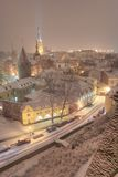 Paisaje urbano de Tallin Imagen de archivo