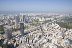Paisaje urbano de Tel Aviv Imagen de archivo libre de regalías