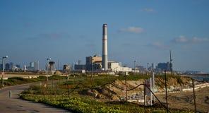 Paisaje urbano de Tel Aviv imagenes de archivo