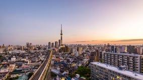 Paisaje urbano de Tokio, Japón metrajes