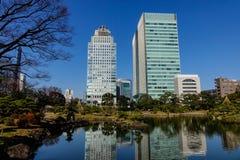 Paisaje urbano de Tokio, Japón Imagenes de archivo