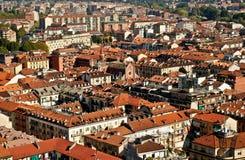Paisaje urbano de Torino Fotos de archivo