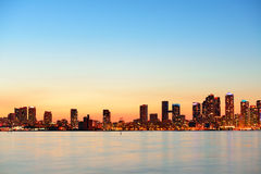 Paisaje urbano de Toronto Foto de archivo