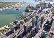 Paisaje urbano de Toronto Fotos de archivo libres de regalías