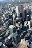 Paisaje urbano de Toronto Imagen de archivo libre de regalías