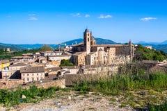 Paisaje urbano de Urbino en Italia Foto de archivo libre de regalías