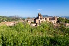 Paisaje urbano de Urbino en Italia Fotografía de archivo