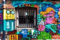 Paisaje urbano de Valparaiso, Chile imágenes de archivo libres de regalías