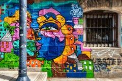 Paisaje urbano de Valparaiso, Chile fotografía de archivo libre de regalías