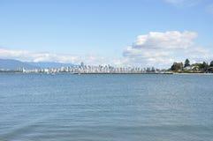 Paisaje urbano de Vancouver fotos de archivo