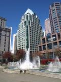 Paisaje urbano de Vancouver Canadá foto de archivo libre de regalías