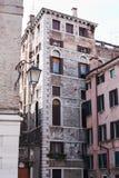 Paisaje urbano de Venecia Fotos de archivo libres de regalías