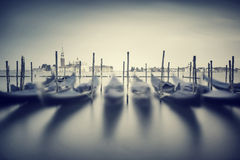 Paisaje urbano de Venecia del vintage Imagen de archivo libre de regalías