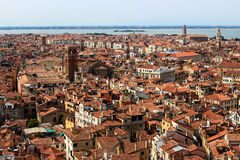 Paisaje urbano de Venecia, Italia Foto de archivo libre de regalías