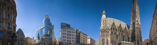 Paisaje urbano de Viena fotografía de archivo libre de regalías
