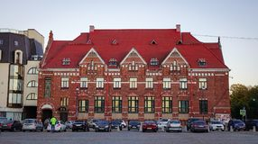 Paisaje urbano de Vyborg, Rusia Imagen de archivo libre de regalías