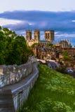 Paisaje urbano de York imagen de archivo libre de regalías