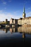 Paisaje urbano de Zurich Foto de archivo libre de regalías