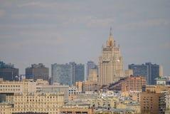 Paisaje urbano del centro céntrico de Moscú Imagen de archivo libre de regalías