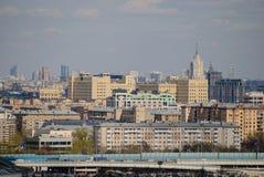 Paisaje urbano del centro céntrico de Moscú Foto de archivo