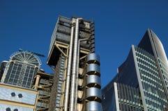 Paisaje urbano del edificio de Lloydâs Imagen de archivo libre de regalías