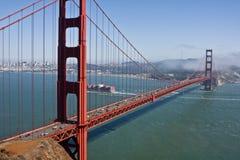 Paisaje urbano del Golden Gate Fotografía de archivo libre de regalías