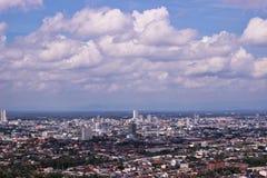 Paisaje urbano del punto de visión Imagen de archivo