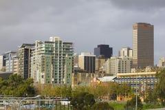 Paisaje urbano en Adelaide, Australia Imágenes de archivo libres de regalías