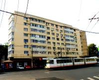 Paisaje urbano en Bucarest imagenes de archivo
