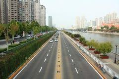Paisaje urbano en China fotos de archivo