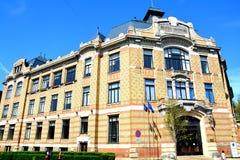 Paisaje urbano en Cluj-Napoca, Transilvania Imagen de archivo