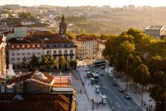 Paisaje urbano en Lissabon Foto de archivo libre de regalías