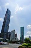Paisaje urbano en Shenzhen Fotografía de archivo libre de regalías